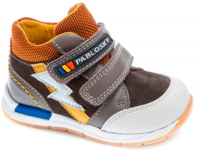 Grey Pablosky baby boy boots 063652
