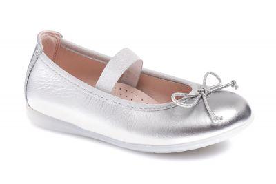 c1edd29c623 Zapatos de niña plata Pablosky de piel 331250
