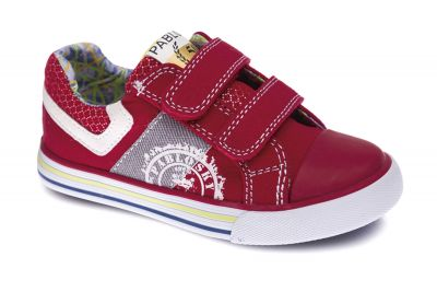 2fae5eaa Red Pablosky boys canvas shoes 954561 | Pablosky