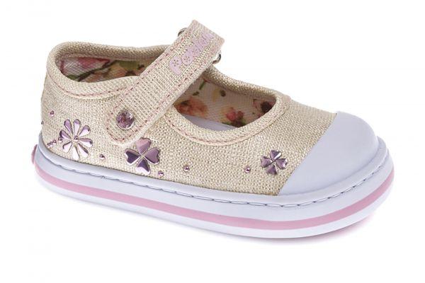 ff5833eff Lonas de bebé niña oro Pablosky textil 953781