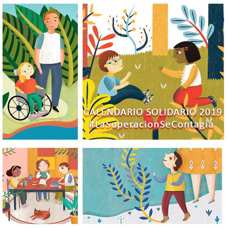 Calendario Pablosky 2018